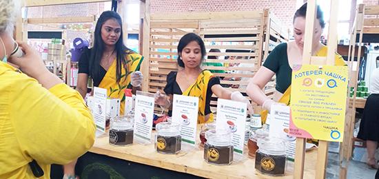 Чайный Совет Шри-Ланки участвует в фестивале «ЧАШКА» в Москве.