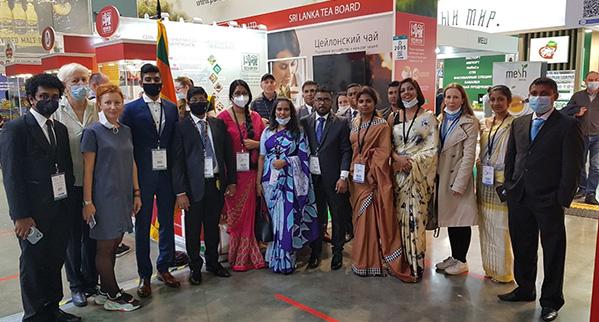 """Sri Lanka Tea Board Participates at the """"World Food Moscow 2021"""