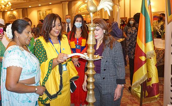 Ceylon Tea promotion at the International Bazaar of the Diplomatic Club Syria